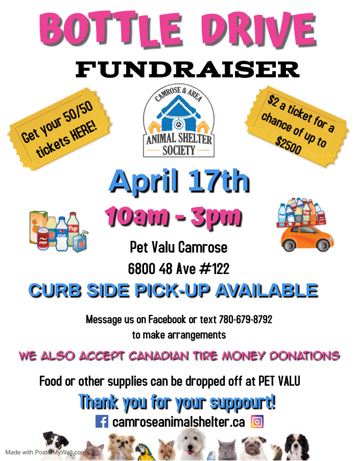 Bottle Drive Fundraiser