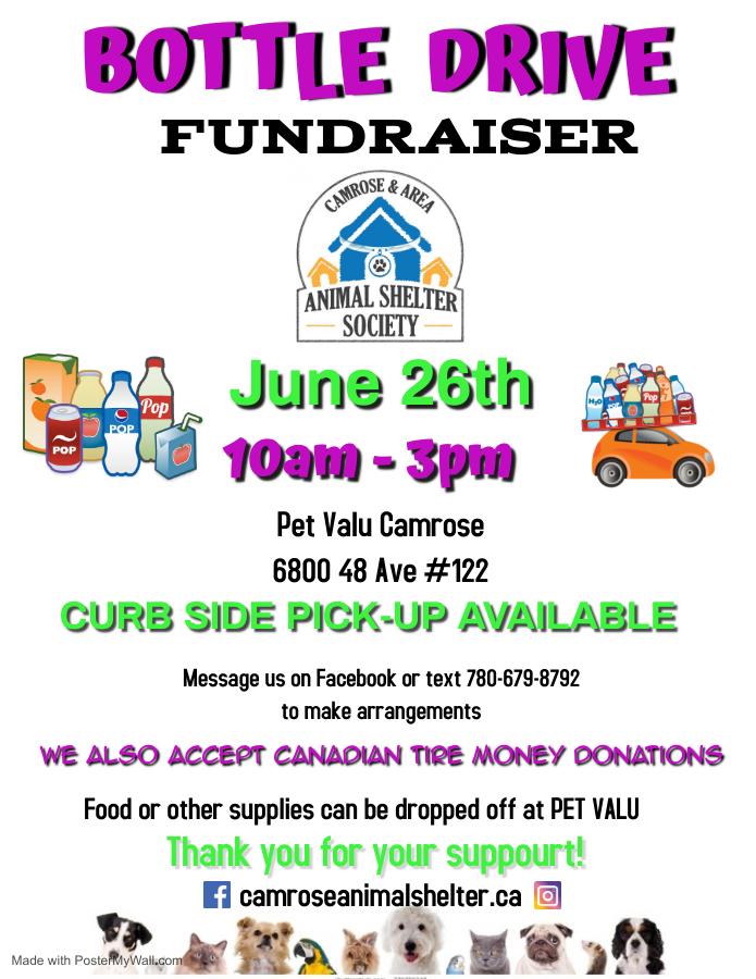 Bottle Drive Fundraiser